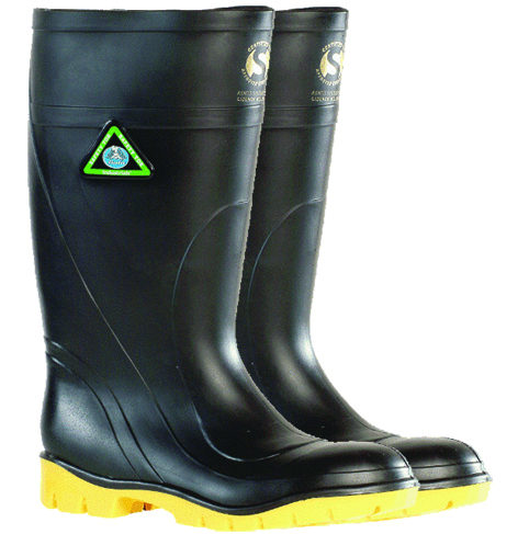 Armour Safety Products Ltd. - Bata Safemate Steel Toe Gumboot – Black