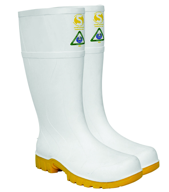 Armour Safety Products Ltd. - Bata Safemate Steel Toe Gumboot – White