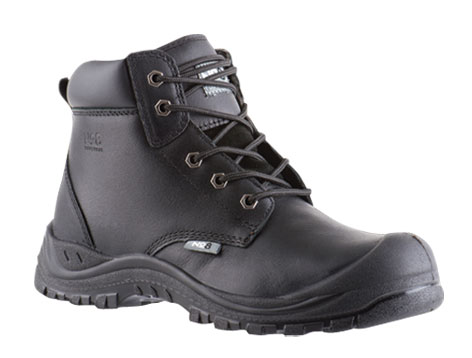 Armour Safety Products Ltd. - No8 Rutherford Lace Up Safety Boot – Black