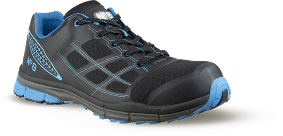 Armour Safety Products Ltd. - No8 Ultralite Swift Safety Shoe Cobalt – 12