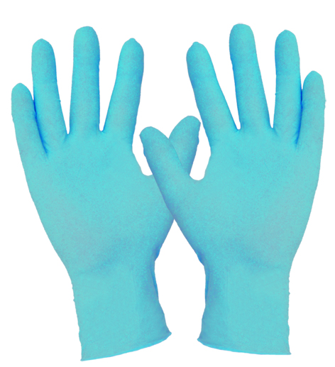 Armour Safety Products Ltd. - Nitrile Blue Disposable Glove Powder Free