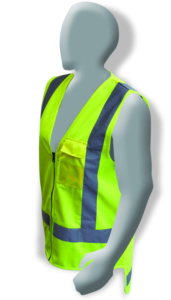 Armour Safety Products Ltd. - Armour Hi Vis Yellow D/N Vest