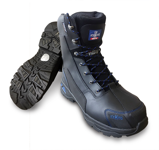 Armour Safety Products Ltd. - IceKing Arctic Thermal Zip Lace Up Boot – Black