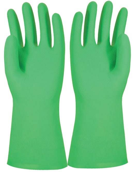 Armour Safety Products Ltd. - Armour Green Nitrile Interface Glove
