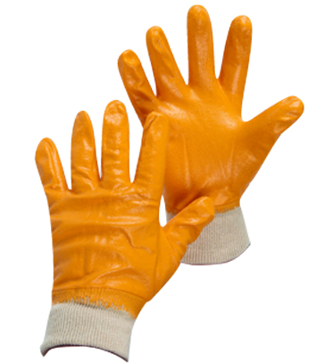 Armour Safety Products Ltd. - Armour Orange Nitrile Full Coat Glove