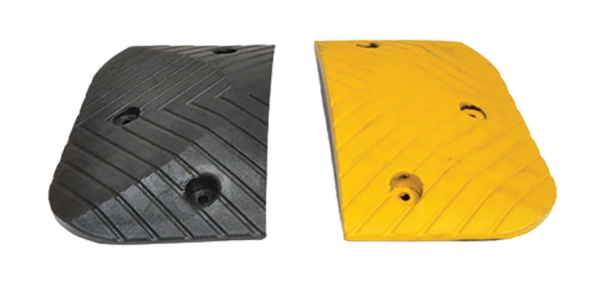 Armour Safety Products Ltd. - Speed Hump Heavy Duty Black End Caps – 50mm