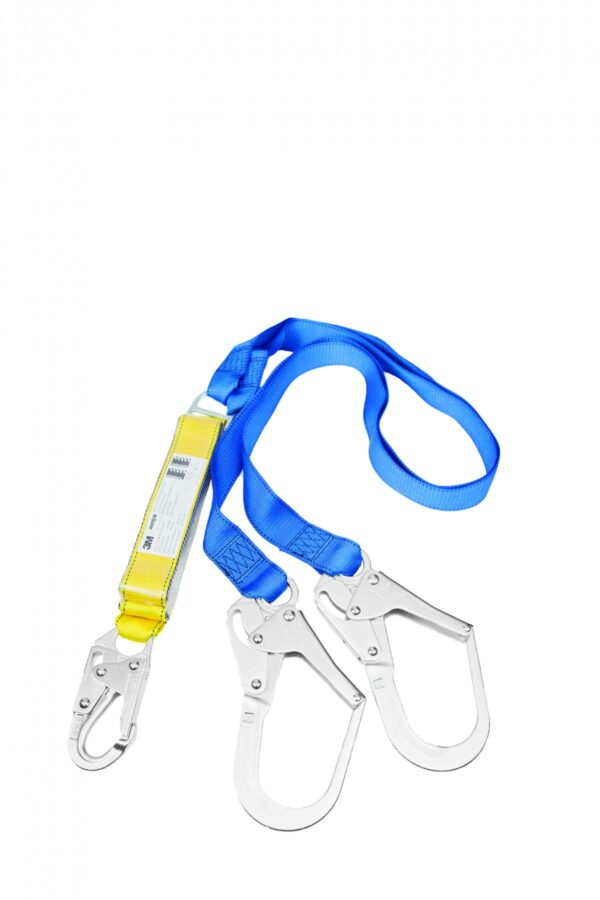 Armour Safety Products Ltd. - 3M Protecta Twin Tail Ez Stop Shock Absorbing Lanyard
